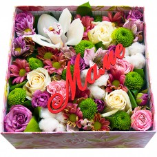 Коробочка Цветы для мамы